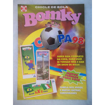 Álbum Bomky Copa 98 Vazio