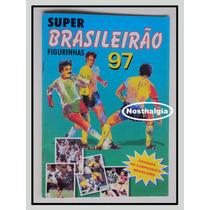 Album Brasileirão 97 - Prêmios - Incompleto - F(621)