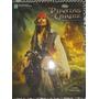 Álbum- Llivro Ilustrado Piratas Do Caribe-vazio
