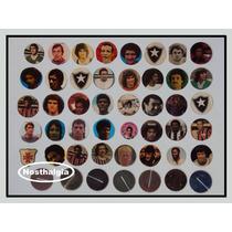 Carinhas De Jogadores - Futebol De Botão - Anos 70 - F(207)