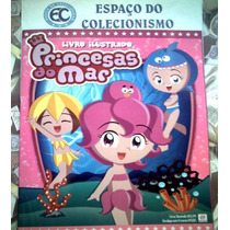 Álbum Figurinhas Princesas Do Mar Completo Para Colar 2012