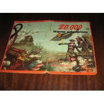Album De Figurinhas 20.000 Léguas Submarinas Editora Vecchi