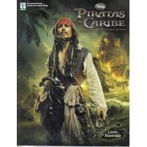 Álbum Piratas Do Caribe Navegando ... Vazio + 120 Pacotinhos