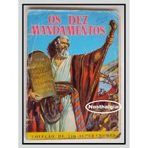 Album Os Dez Mandamentos - Anos 50 - F(312)
