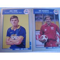 Rara Coleção De Cards Futebol Soccer 1988/89 Usa