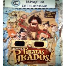 Álbum Figurinhas Piratas Pirados Compl. P/colar 2012