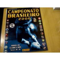 Álbum Campeonato Brasileiro 2006 + 10 Figurinhas Para Colar