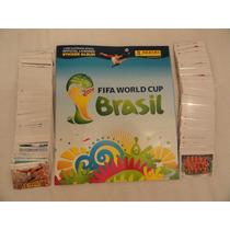Álbum Da Copa Brasil 2014 Completo!!! Com As Inéditas