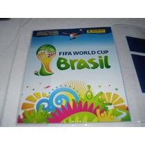 Album Copa Do Mundo 2014 Capa Dura Completo Para Colar