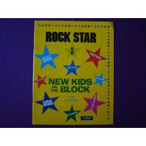 Álbum Figurinhas Rock Star New Kids On Block Saravan Vazio
