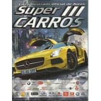 Super Carros Ill 3 Album Com 100 Figurinhas Sem Repetição