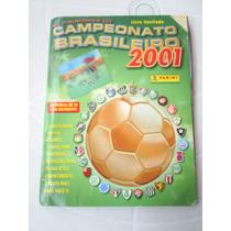 Album Campeonato Brasileiro 2001 - Faltando 31 Figurinhas