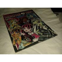 Album De Figurinhas Monster High - Incompleto