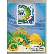 Álbum Copa Confederações 2013 Vazio - Novinho 10.00