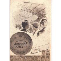 Cartela - Copa Do Mundo 1950 Superbal - 11 Craques - Futebol