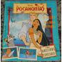 Álbum Disney Pocahontas Semi-completo Falta 1 Fig Capa Solta