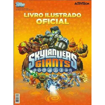 Album De Figurinhas Cards Skylanders Giants Completo