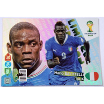 Cards Copa 2014 Adrenalyn Limited Edition Balotelli Italia