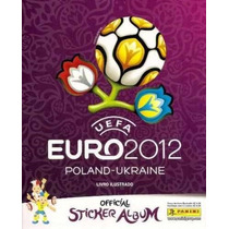 Álbum Figurinha Vazio Panini Uefa Euro 2012 Poland Ukrain