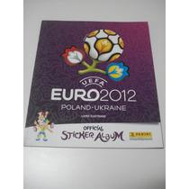 Álbum De Figurinhas De Futebol Eurocopa 2012 Uefa Novo Vazio
