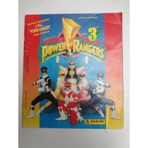 Album De Figurinhas Power Rangers Serie 3 Completo