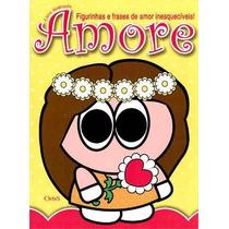 Album Amore, Completo Com 180 Figurinhas Soltas Para Colar.