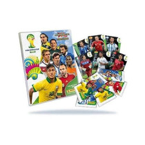 Album Cards Adrenalyn Copa 2014+base Completa Frete Gratis