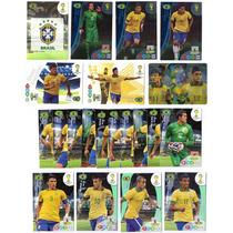 Cards Copa 2014 Adrenalyn - Seleção Brasil Completa Neymar
