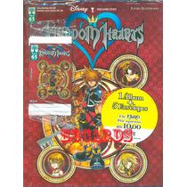 Kit Álbum Figurinhas Kingdom Hearts + 5 Envelopes Ed. Abril