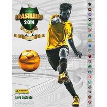 Álbum Campeonato Brasileiro 2014 - Completo - Para Colar