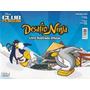 Desafio Ninja Club Penguim Album C/ 123 Figurinhas Cards