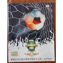 Álbum Figurinha Incompleto Campeonato Brasileiro 2013