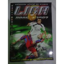 Album Liga Espagnha 2006/07 Panini Colado