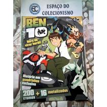 Álbum Figurinhas Ben 10 - 2010 - Completo Para Colar