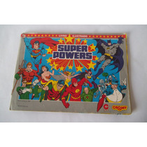Álbum Figurinhas Super Power - Cromy 1988 - Incompleto