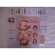 Álbum Jolie-um Mundo Encantado- Completo-figurinhas Soltas