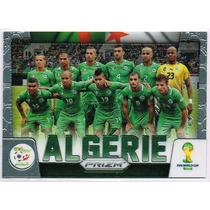 Cards Copa 2014 Prizm Team Photos #1 Argelia Algerie