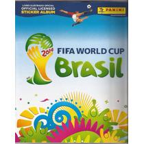 Álbum Figurinhas ,copa Do Mundo 2014, Brazil