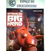 Álbum Operação Big Hero Vazio + Lote Com 100 Figurinhas
