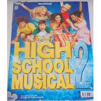 Álbum/ Livro Ilustrado High School Musical 2 - Completo