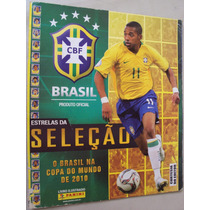 Album Figurinhas Estrelas Da Seleção Brasil Copa 2010 *