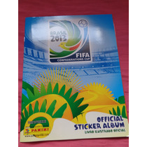 Copa Das Confederações 2013 Album Vazio Impecavel