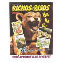 Ml-2173 Album De Figurinhas Bichos E Risos (completo)