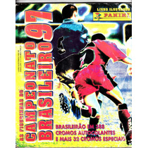 Albúm Brasileirão - 1997 - Panini - Faltando 13 Figurinhas