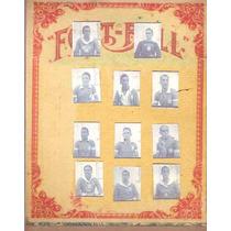 Cartela Football - 11 Craques Da Seleção 1954 - Futebol