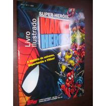 Álbum De Figurinhas Super Heróis Marvel Ed Topps
