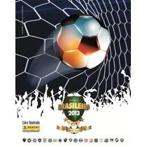 Álbum Capa Dura Figurinhas Campeonato Brasileiro 2013 Comple