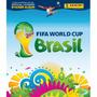Álbum Copa Do Mundo 2014 Capa Dura + 400 Figurinhas P/ Colar