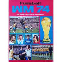 Álbum De Figurinhas Digitalizado Copa Do Mundo 1974 Bergmann