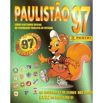 Álbum De Figurinhas Digitalizado Campeonato Paulista 1997